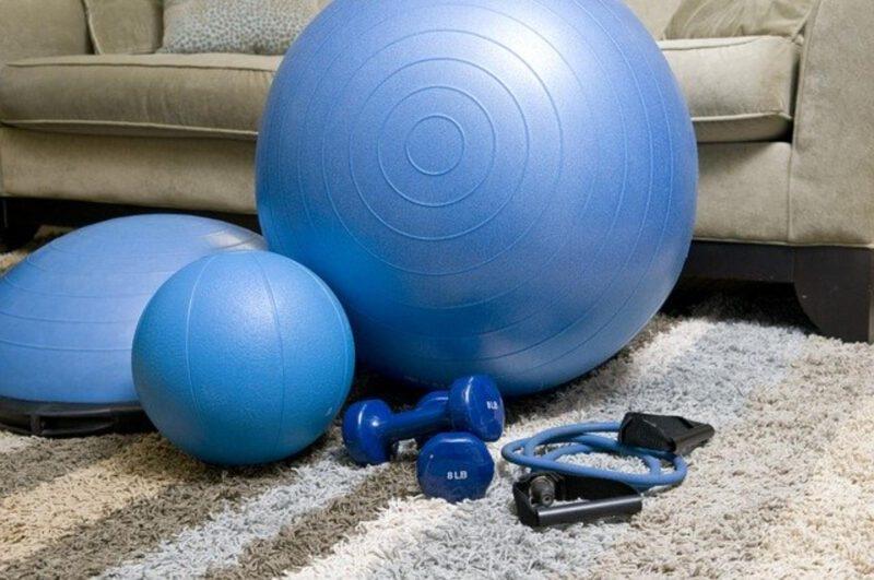 Efektywny trening w domu